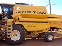 Colheitadeira New Holland TC59