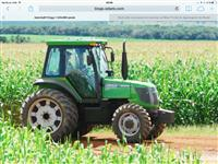 Trator Agrale BX 6110 4x4 ano 12