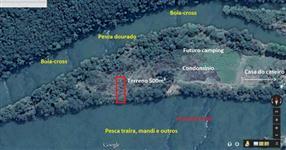 Terreno numa ilha no rio Ivaí, em São pedro do Ivaí PR