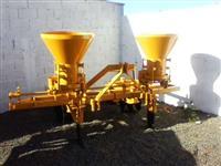 Cultivador DMB 2 linha com adubadeira com 16 discos traseira