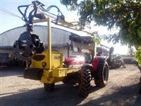 GRUA MKF6060 ACOPLADA EM MF4292/4 2012