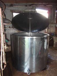 Resfriador - Tanque de expansão 1000 litros