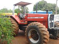 Trator Massey Ferguson MF 660 4x4 ano 99