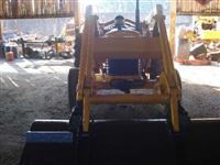 Trator Massey Ferguson 65R 4x2 ano 86
