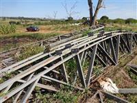 Estrutura metálica para Barracão