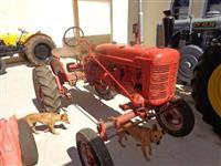 Trator Antigo Farmall A - Temos Ford 1929