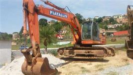 Escavadeira Fiat, modelo FX215 ano 2003