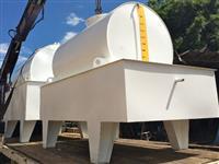 Tanque Aéreo estacionário para Grupo Gerador de energia