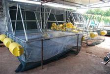 Tanque Rede de Alumínio para Criação de Peixe