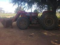 Trator Massey Ferguson Advanced turbo 4x4 ano 05