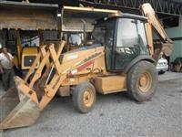 Retro Escavadeira Case 580M -4x2