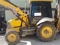 Retro Escavadeira JCB 3C -4x2