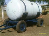 Carreta com tanque de 4.500L