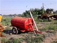 Tanque 2000lt com chassis sem bomba fibra