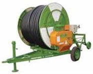 Carretel irrigador Hidroturbo 63/250 completo (carretel + bomba + canos)