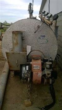 Caldeira a Gás 400kg/h