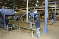 Máquina de Fabricação de Pisos e blocos de concreto