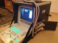 Aparelho de ultrassom veterinário CHISON 8300 com duas probes