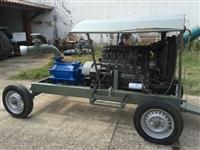 Motor MWM 6 cilindros acoplado com bomba Mark
