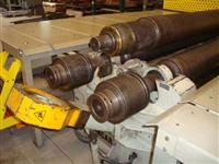 Calandra hidráulica para chapas até 3 m e perfil com inicial e NR 12