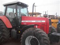 Trator Massey Ferguson hd 4x4 ano 08