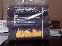 VENDO  LENHA ECOLÓGICA - BRIQUETES DE  EUCALIPTO - RS