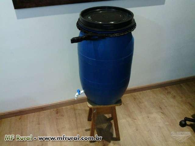 Tambor com torneira reservat rio de gua em s o paulo for Tambores para agua