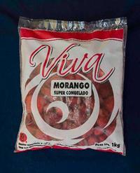 Morango Fruta Congelado IQF
