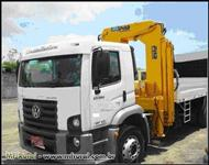 Caminhão Vw24.250 08/09 Carroceria 6,60m C/munck