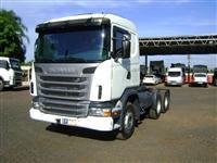Caminhão  Scania G-420 6X4 CAB LEITO   ano 10