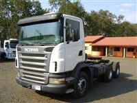 Caminhão  Scania G-420 6X4   ano 10