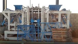 Usina para fabricação de bloco de concreto e Piso intre-travado