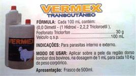VERMEX TRANSCUTÂNEO (VERMÍFUGO INTERNO E EXTERNO) POR-ON