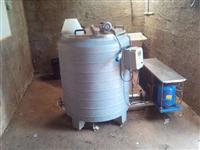 Tanque de Resfriamento de Leite - Expansão