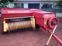 Enfardadeira New Holland, mais conjunto fenaçao New Holland.