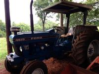 Trator Ford/New Holland 4610 4x2 ano 89