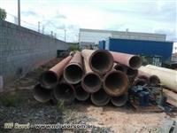 lote de Tubos e Conexões em Ferro Fundido, Diâmetros de 500 , 400, 350, 150 mm
