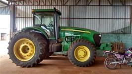Trator John Deere 7815 4x4 ano 03