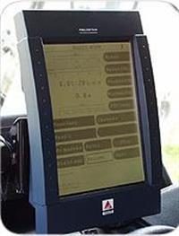Monitor Datavision para colheitadeiras Massey Ferguson