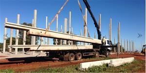Pavilhões pré-moldados, Aviários, Tudo em Estruturas de Aço e Concreto