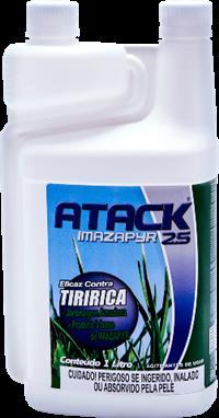 Atack Imazapyr 2.5 1000 ml - caixa com 6 unidades de 1000 ml
