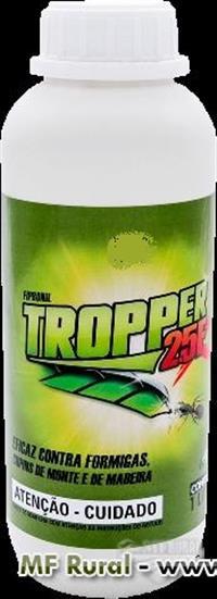 Tropper  2.5 F 1 Litro - Concentrado - Caixa com 6 frascos de 1000 ml