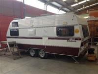 Trailer Carman Guia Caravan KC540 Impecável
