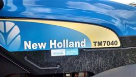 Trator Ford/New Holland TM 7040 4x4 ano 11