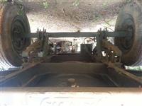 REBOQUE CISTERNA , freio a ar. Capacidade de armazenamento 1.500L. para caminhão