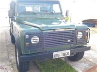 land rover defender 110 pickup unico dono  diesel