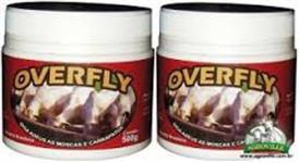 OVERFLY (combate, e extermina mosca do chifre, Carrapatos,vermes,bernes,piolhos)