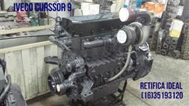 Motor Iveco Curssor 9 colheitadeira retificado