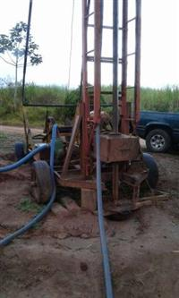 perfuratriz rotativa para poço artesiano
