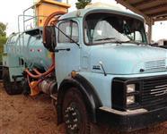Caminhão MB 1317 ano 86 toco + Tanque vácuo 8.000 litros